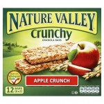 Nature Valley Apple Crunch Granola 12 bars 6x2