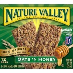 Nature Valley Oats & Honey Granola 12 bars 6x2