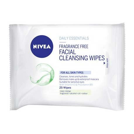 Nivea Cleansing Wipes All Skin Types