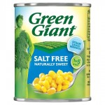 Green Giant No Added Salt Sweet Corn 198g