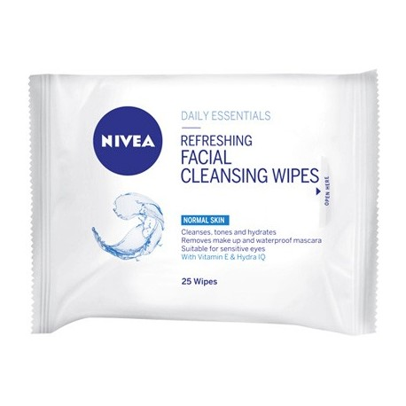 Nivea Replenishing Cleansing Wipes Normal Skin