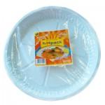 "Hotpack Plastic Plates 10"" 25Pcs"