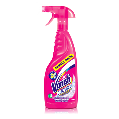 Vanish Pre-Wash Spray Oxi Action Fabric Stain Remover 500ml