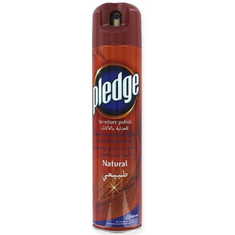 Pledge Furniture Polish Natural 300ml From Supermart Ae