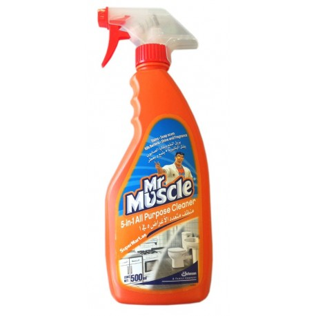 Mr. Muscle 5 in1 All Purpose Cleaner Citrus Lime 500ml