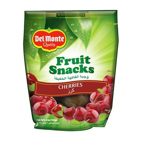 Del Monte Fruit Snacks Cherries 142g