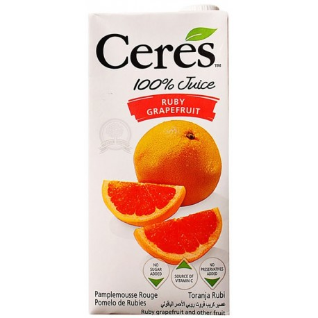 Ceres Ruby Grapefruit Juice 1L