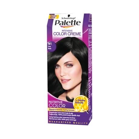 Palette 1-0 Black Intensive Colour Cream