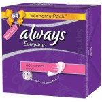 Always Everyday Fresh 40 Normal Scented Pantyliners