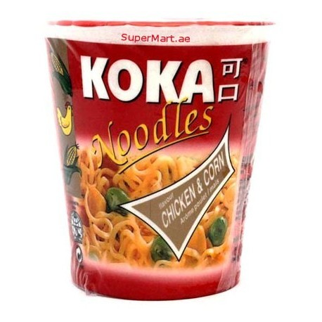 Koka Noodles Chicken & Corn 70g