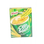Knorr Cream of Corn Cup a Soup 4 Sachets 80g