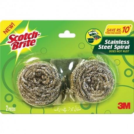 Scotch Brite Stainless Steel Spiral 2