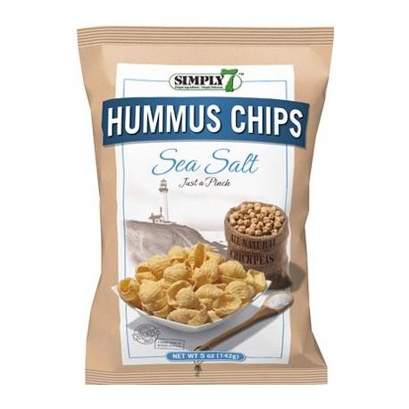 Simply 7 Hummus Chips Sea Salt 142g