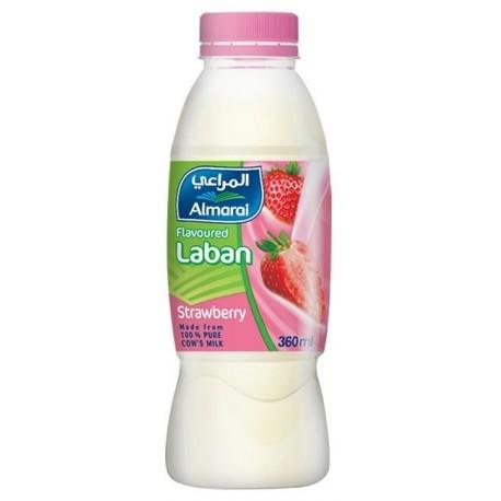 Almarai Strawberry Flavoured Laban 340ML