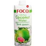Foco Pure Coconut Water with Pink Guava 500ml