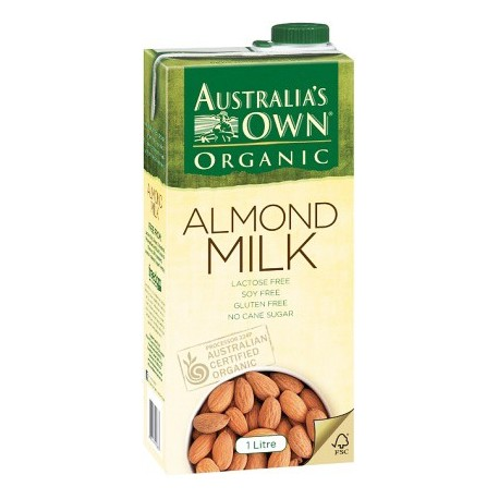 Australia's Own Organic Almond Milk 1L
