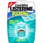 Listerine Cool Mint Pocketpaks 24 Breath Strips