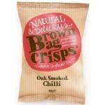Brown Bag Crisps Oak Smoked Chilli 40g