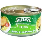 Heinz Tuna Chunks in Sunflower Oil 185g