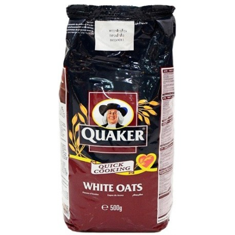 Quaker White Oats Flakes 500g