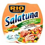 Rio Mare Salatuna Maize Recipe (Vegetables and Tuna Salad) 160g
