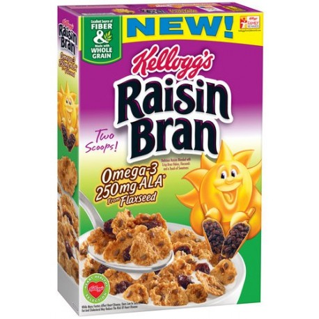Kelloggs All-Bran Raisin 500g