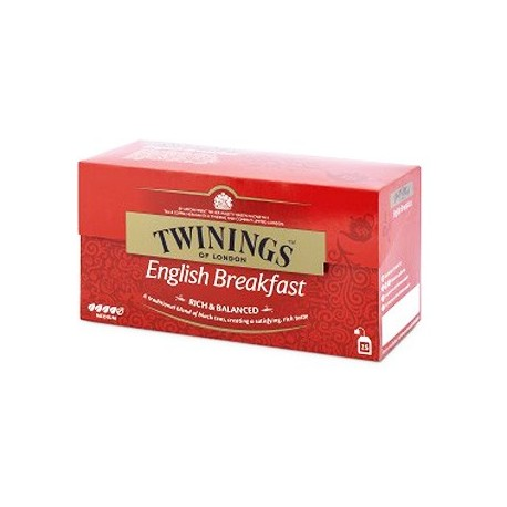 Twinings English Breakfast Teabags 25x2g