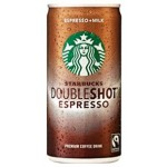 Starbucks Double Shot Espresso Premium Coffee Drink 200ml