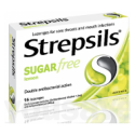 Strepsils Lemon Sugar Free 16 Lozenges