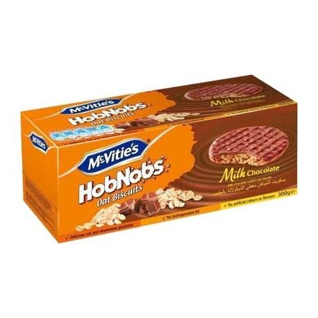 McVities Hobnobs Milk Chocolate 300g