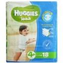Huggies 4+ X-Large 9-20kg 18 Diapers