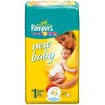 Pampers Newborn1, 2-5 kg, 21 Diapers