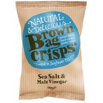 Brown Bag Crisps Sea Salt & Malt Vinegar 40g
