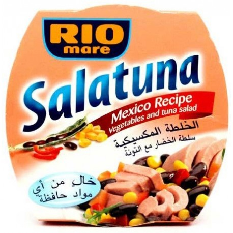 Rio Mare Salatuna Mexico Recipe (Vegetables and Tuna Salad) 160g