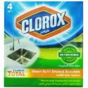 Clorox Heavy Duty Sponge Scourer 4