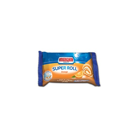 Americana Super Roll Orange