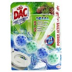 Dac Toilet Rim Block Power Active Pine 50g