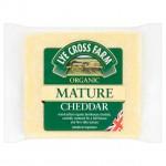 LYE Cross Farm Organic Mature  Cheddar 200g