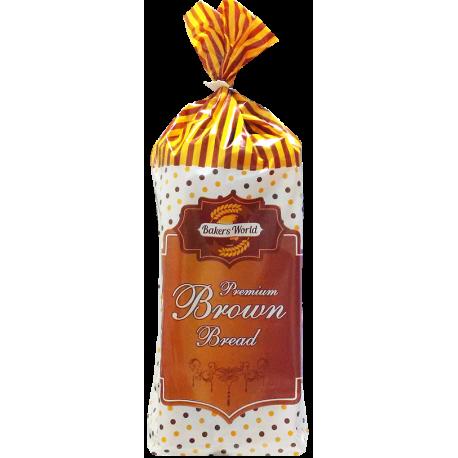 Bakers World Premium Brown Slice Bread Large 600g
