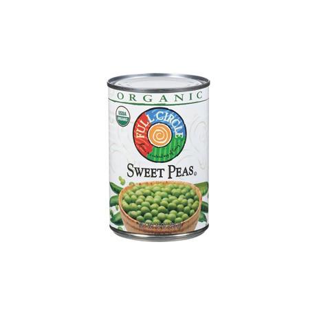 Full Circle Organic Sweet Peas 425g