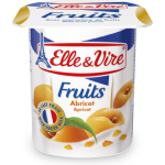 Elle & Vire Apricot Yoghurt with Fruit Pieces 125g