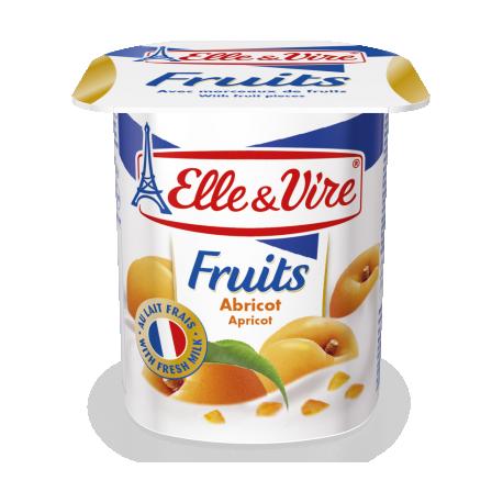 Elle & Vire Fruits Apricot 125G
