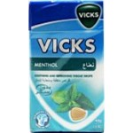 Vicks Menthol Soothing & Refreshing Throat Drops 40g