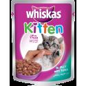 Whiskas Kitten in Jelly with Tuna 85g