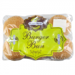 Bakers World 6 Burger Buns
