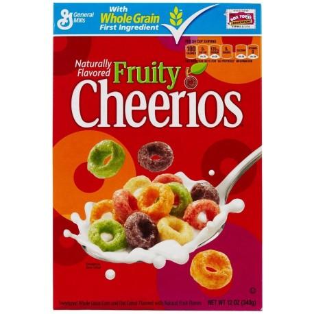 General MIlls Fruity Cheerios Cereals 340g