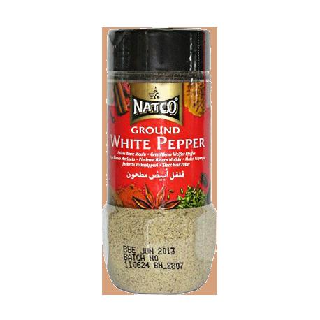 Natco Ground White Pepper 100g