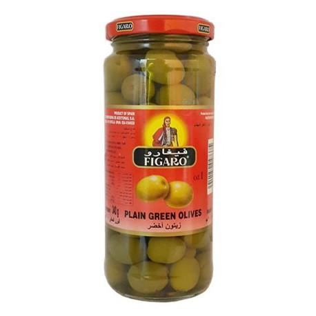 Figaro Plain Green Olives 450g