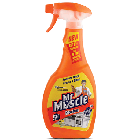 Mr. Muscle 5in1 Total Kitchen Cleaner Orange 500ml