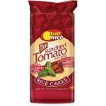 Sun Rice Thin Sundried Tomato and Basil Rice Cakes 195g
